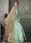 Embroidered Work Long Length Anarkali Salwar Suit For Party - 1