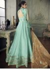 Embroidered Work Long Length Anarkali Salwar Suit For Party - 2