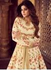 Embroidered Work Shamita Shetty Designer Floor Length Salwar Suit - 1