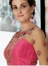Silk Floor Length Gown For Party - 1
