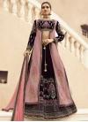 Silk Georgette Jacket Style Lehenga Choli - 1