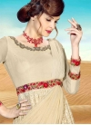 Faux Georgette Readymade Classic Gown - 1