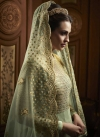 Beads Work Floor Length Anarkali Salwar Suit - 2