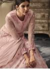Embroidered Work Floor Length Anarkali Suit - 2