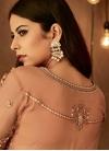 Beads Work Palazzo Straight Salwar Suit - 2