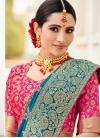Beads Work Classic Saree - 2