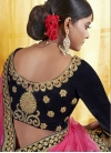 Embroidered Work Velvet A Line Lehenga Choli - 2