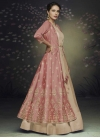 Satin Silk Readymade Designer Gown - 1