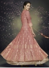 Satin Silk Readymade Designer Gown - 2