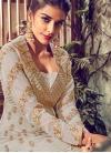 Faux Georgette Layered Designer Anarkali Suit - 2
