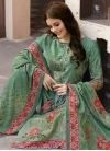 Digital Print Work Pant Style Pakistani Salwar Kameez - 1