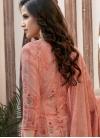 Cotton Satin Pant Style Pakistani Suit For Festival - 1