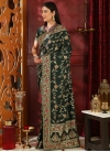 Embroidered Work Designer Traditional Saree - 1