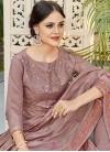Chanderi Silk Pant Style Classic Salwar Suit - 1