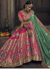 Beads Work Trendy A Line Lehenga Choli - 1