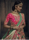 Beads Work Trendy A Line Lehenga Choli - 2