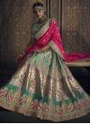 Banglori Silk Beads Work A Line Lehenga Choli - 1