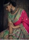 Banglori Silk Beads Work A Line Lehenga Choli - 2