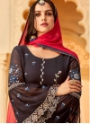 Faux Georgette Palazzo Style Pakistani Salwar Suit - 2