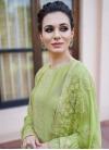 Cotton Satin Palazzo Style Pakistani Salwar Suit - 1