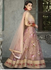 Organza Readymade Long Length Gown - 1