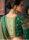 Embroidered Work Traditional Saree - 2