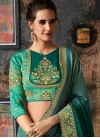 Satin Georgette Traditional Designer Saree For Ceremonial - 1