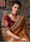 Booti Work Art Silk Designer Traditional Saree - 1