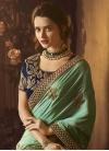 Designer Contemporary Style Saree For Festival - 1