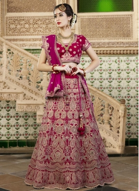 A Line Lehenga Choli For Party