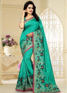 Aari Work Classic Saree