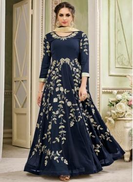 Aari Work Floor Length Designer Salwar Suit