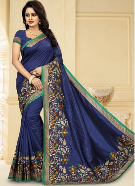 Aari Work Trendy Classic Saree