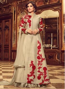 Aari Work Trendy Designer Salwar Suit
