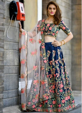 Aari Work Trendy Lehenga Choli