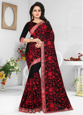 Aari Work Trendy Saree