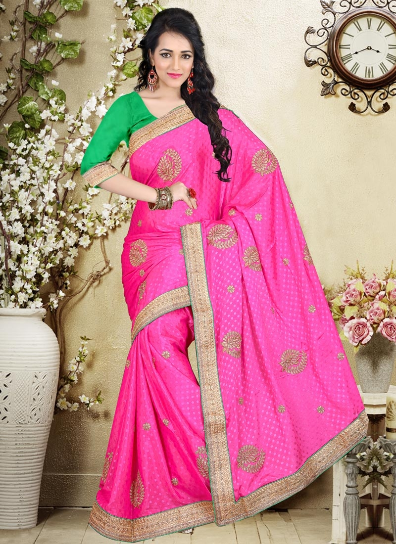Admirable Chiffon Satin Party Wear Saree