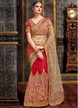 Admirable  Designer Lehenga Style Saree