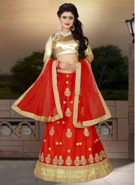 Adorable  Net A Line Lehenga Choli