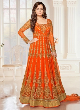 Adorning Dia Mirza Net Long Length Anarkali Salwar Suit