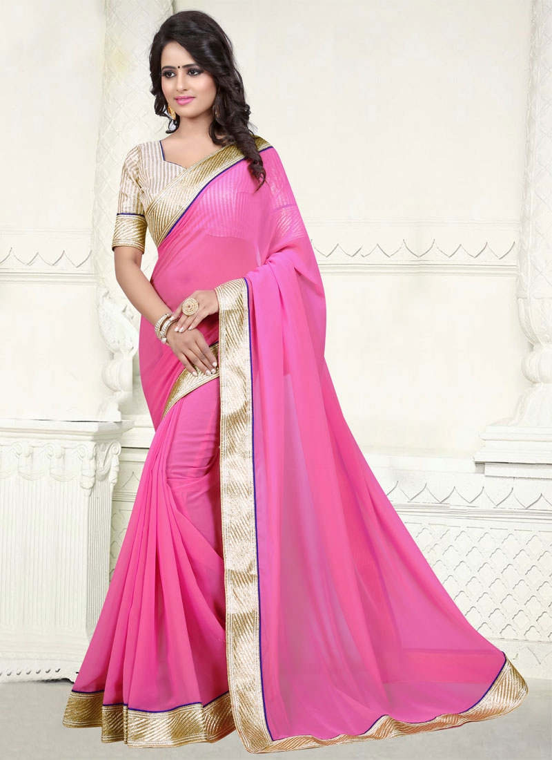 Aesthetic Faux Georgette Casual Saree