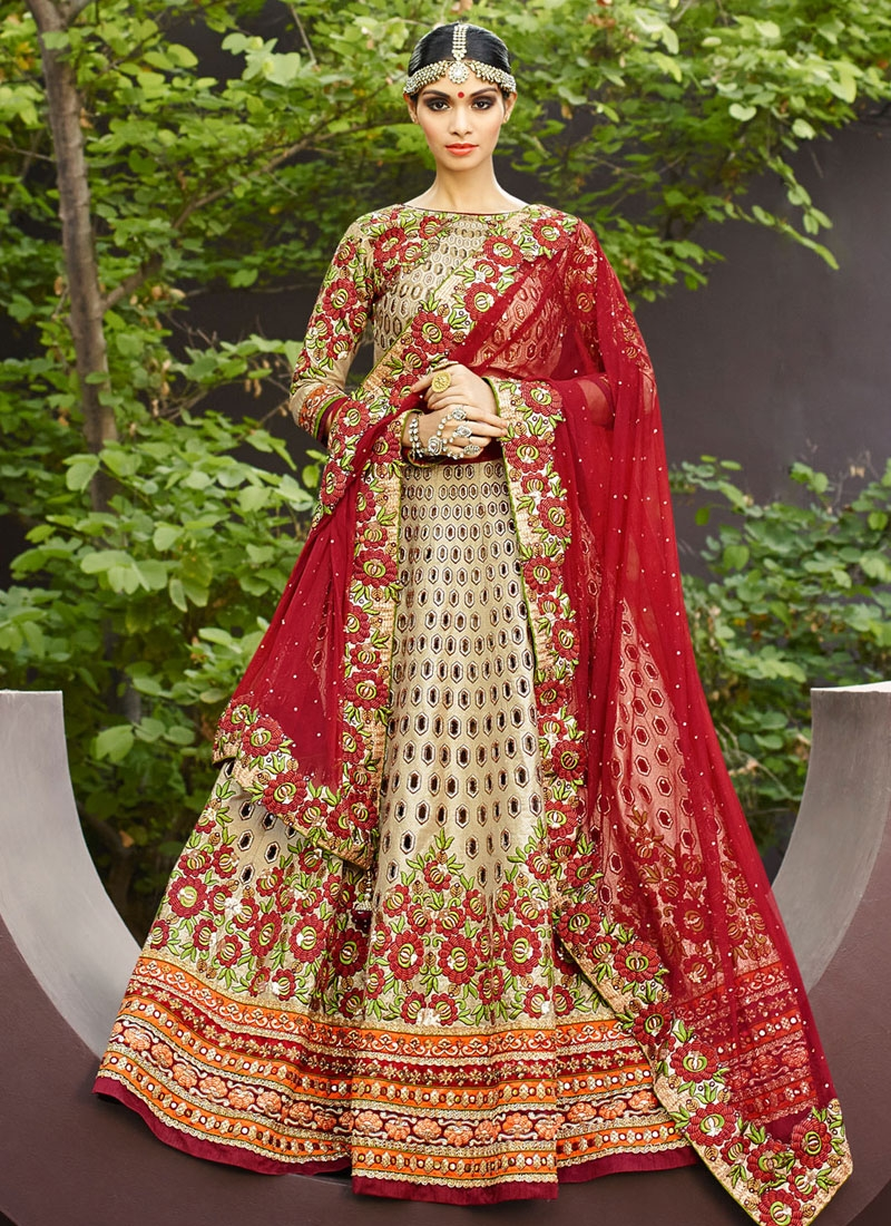 Aesthetic Floral Work Designer Lehenga Choli
