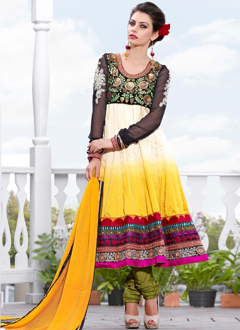 Aesthetic Resham Work Party Wear Suit