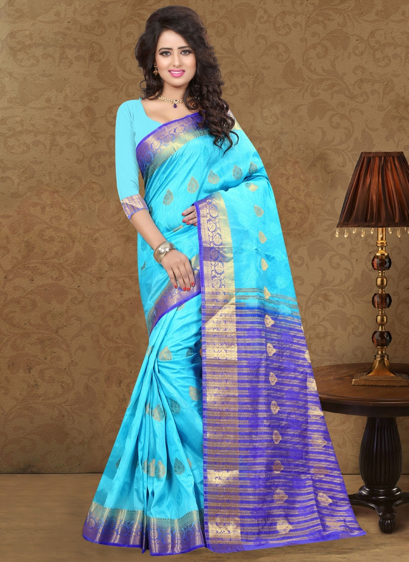 Affectionate Art Silk And Nylon Party Wear Saree
