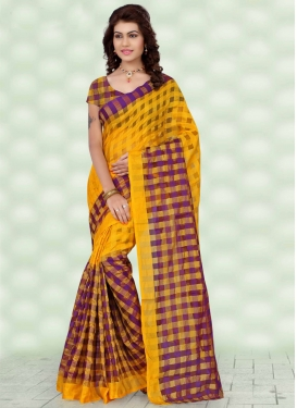 Affectionate Art Silk Printed Casual Saree