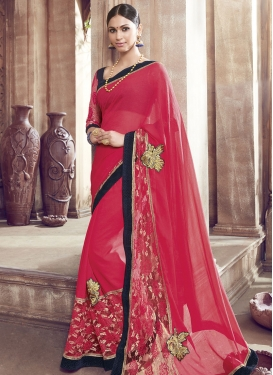Affectionate Booti Work Net Party Wear Saree