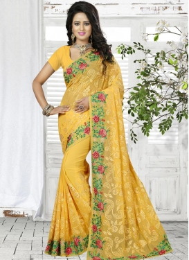 Affectionate Contemporary Saree