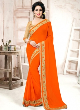 Affectionate Contemporary Style Saree For Festival
