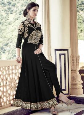 Alluring Booti Work  Trendy Designer Salwar Suit