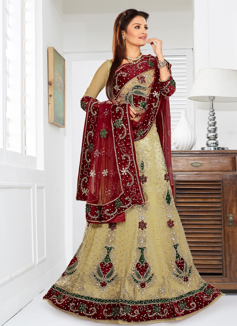 Alluring Cutdana Work Wedding Lehenga Choli